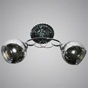 Люстра подвесная 2-рожковая 31902/2 CR, 2х40W, E27, LNGSH19, хром