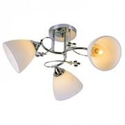 Люстра подвесная 3-рожковая XA1090B/3 CR, 3х60W, E27, d470, HN19, хром