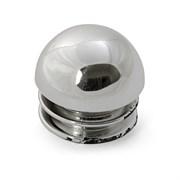 Заглушка сферическая, для трубы 25мм, JK041, пластиковая