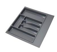 Лоток для столовых приборов 600мм, серый