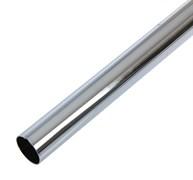 Штанга/труба для шкафа, 25x0.7x3000мм, круглая, сталь, хром