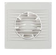 Вентилятор настенный вытяжной EVENT 100C, 157x157мм, диаметр 100мм, белый