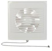 Вентилятор настенный вытяжной EVENT 100CВ, 157x157мм, диаметр 100мм, белый