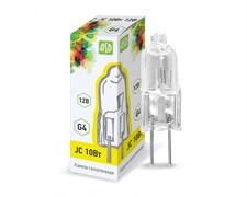 Лампа галогенная ASD JC, 20Вт, 12В, G4, 290Лм, капсульная