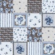 Клеенка столовая декоративная ДЕКОРАМА 103D, 1.4x20м, на метраж