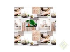 Клеенка столовая декоративная ФИЕСТА BG70, 1.4x20м, на метраж