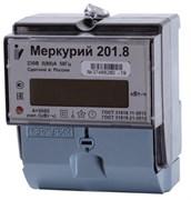 Счетчик электрический Инкотекс Меркурий 201.8,  однотарифный, 5-80А, электронный, однофазный