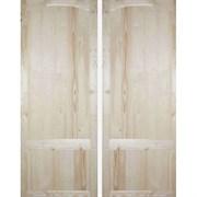 Дверь филенчатая щитовая ДФЩ 80x210см с коробкой, полотно 70x200см