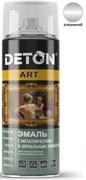 Краска-эмаль Аэрозоль DETON-ART, спрей 520мл, алюминий