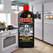 Средство для чистки металлических изделий SANITOL Блеск стали ЧС-11, 250мл