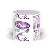 Бумага туалетная PLUSHE Light, 1-слойная, без втулки, 28м, серая