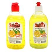 Средство для мытья посуды SELENA, жидкое, лимон, 500мл