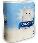 Полотенца бумажные Angora, однослойные, упаковка 2шт