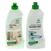Средство чистящее для ванной комнаты GLOSS GEL GRASS, кислотное, гель, 0.5л