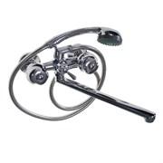 Смеситель в ванную 87141-60 MYFAIR, металлокерамика, с шаром переключением, двуручный