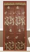 Штора/сетка Dekotex IMAGE ANT.01.03/TJ02-BR, москитная на дверь, 100x210см, на магнитах, коричневый BROWN
