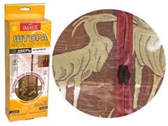 Штора/сетка Dekotex IMAGE ANT.01.03/TJ03-BR, москитная на дверь, 100x210см, на магнитах, коричневый BROWN