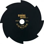Диск для триммера Denzel, 230х25.4мм, толщина 1.6 мм, 8 лезвий