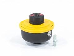 Катушка триммерная DENZEL, полуавтомат, лёгкая заправка лески, гайка М8x1.25мм, винт М8-М8