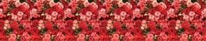 Фартук кухонный Розовый ковер, 3000х600х1.5мм, пластик АВС, термопечать
