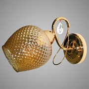 Светильник настенный/бра LNGSH19 12409/1W FGD , высота 190мм, 1х40W, E27, золото