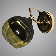 Светильник настенный/бра LNGSH19 12410/1W BK+FGD, высота 200мм, 1х40W, E27, черный/золото