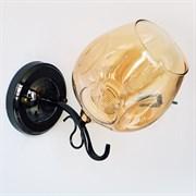 Светильник настенный/бра LNGSH19 31948/1W FGD+BK, высота 240мм, 1х40W, E27, золото/черный