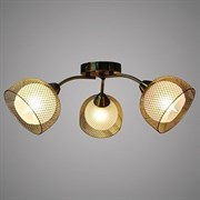 Люстра подвесная 3-рожковая 50860/3 AB SHGN19, диаметр 535мм, 3х40W, E14, бронза