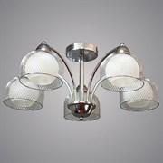 Люстра подвесная 5-рожковая 50860A/5 CH SHGN19, диаметр 620мм, высота 310мм, 5х40W, E27, хром