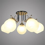 Люстра подвесная 5-рожковая 76349/5 CH SHGN19, диаметр 560мм, 5х40W, E27, хром