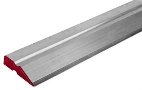 Правило Зубр Эксперт, 2500мм, алюминиевое, профиль ДВУХВАТ со стальной рабочей кромкой
