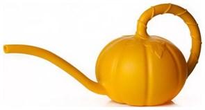 Лейка садовая Тыковка М5625, 1.5л, без рассеивателя, пластиковая, оранжевая