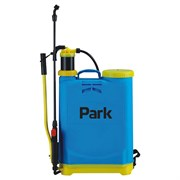 Опрыскиватель-распылитель садовый Park 990030, 16л, 88x42x14см, удочка 54см, рычажный, наплечный, синий