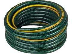 Шланг поливочный GRINDA Standard, 3/4дюйма (18мм), 15м, трехслойный, армированный, 15 атм., ПВХ, бухта