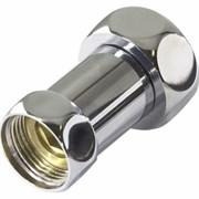 Соединение Frap для полотенцесушителя разъемное, прямое, 3/4дюйм (20мм), внутренняя/наружная резьба, латунь, хром