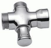 Дивертор/переключатель LEDEME LAAA к смесителю в ванную, кнопочный, картриджный, хром