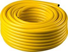 Шланг поливочный PROFES, 3/4дюйма (18мм), 50м, трехслойный, армированный, ПВХ, желтый, бухта