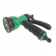 Пистолет-распылитель для полива Silo, 6х14х21см, 8 режимов, ручка с эластичной накладкой, пластиковый