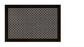 Решетка (экран) радиаторная ХДФ, 600x1200мм, Сусанна, врезная, венге