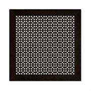 Решетка (экран) радиаторная ХДФ, 600x600мм, Сусанна, врезная, енге