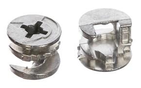 Стяжка эксцентриковая для ДСП, 16мм, металл, упаковка 8шт Tech-Krep, цена за штуку