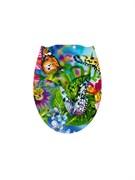Сиденье для унитаза Фотопринт Бабочки, 450x370мм, пластиковое