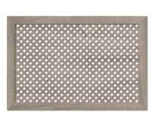 Экран для радиатора МДФ/ХДФ, 1200x600мм, Готико, дуб винтаж