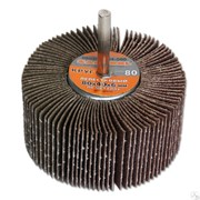 Круг лепестковый MATRIX по металлу для дрели, 80x40x6мм, P80