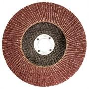 Круг Matrix лепестковый торцевой, 125x22мм, P40