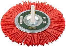 Корщетка -колесо FIT для дрелей, 100мм, нейлоновая