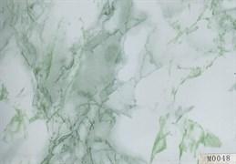 Пленка самоклеящаяся М0048, 675ммх8м, мрамор зеленый