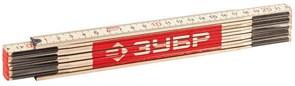 Метр STAYER 3424-2, 2000мм, складной, деревянный