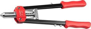Заклёпочник/клещи ЗУБР ЭКСПЕРТ С-48, для вытяжных заклёпок 2.4-4.8, двуручный, силовой