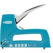 Степлер мебельный скобозабивной GROSS 41005, пластиковый корпус, универсальный, тип скобы 53/36/300/500 8-14мм